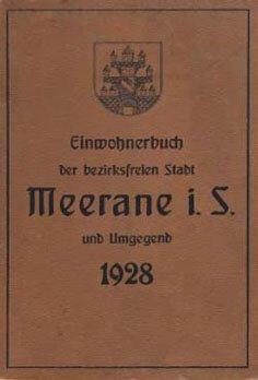 Adressbuch-Meerane