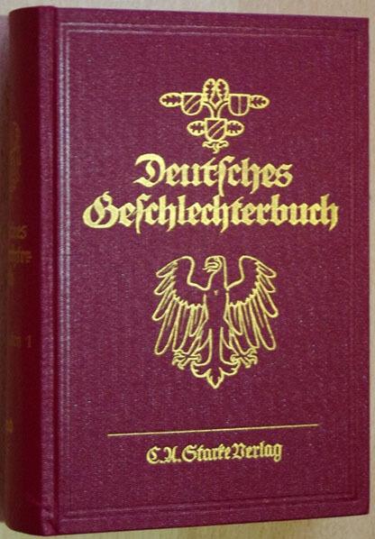 Geschlechterbuch-Starke-Verlag