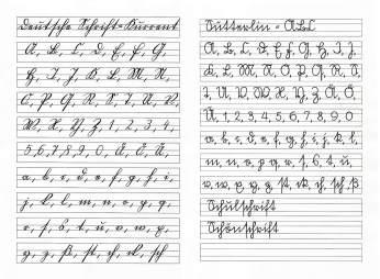 Handschrift Sutterlin