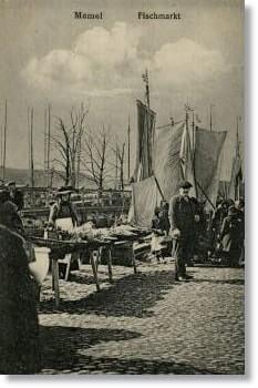 Genealogy Memel Fischmarkt