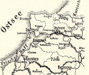 Karte Komturei
