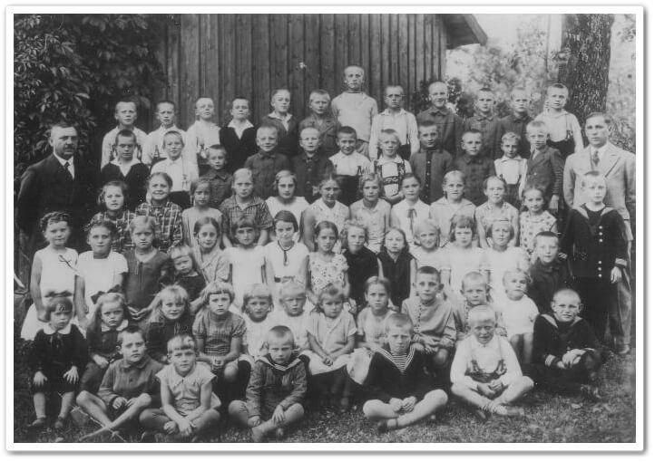 Schulklasse-Wohlau-1933