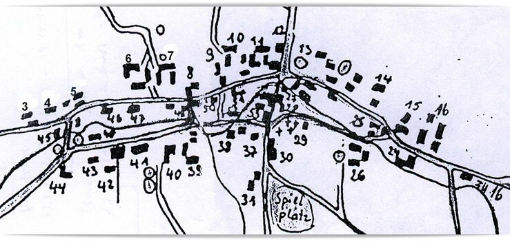 Strassenplan-Schoenlinde